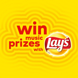 WIN MUSIC PRIZES WITH LAY'S!